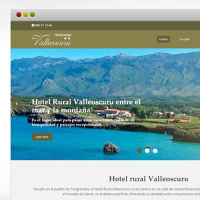 Lidia uribarrena dise o y programaci n de p ginas web for Hotel rural diseno